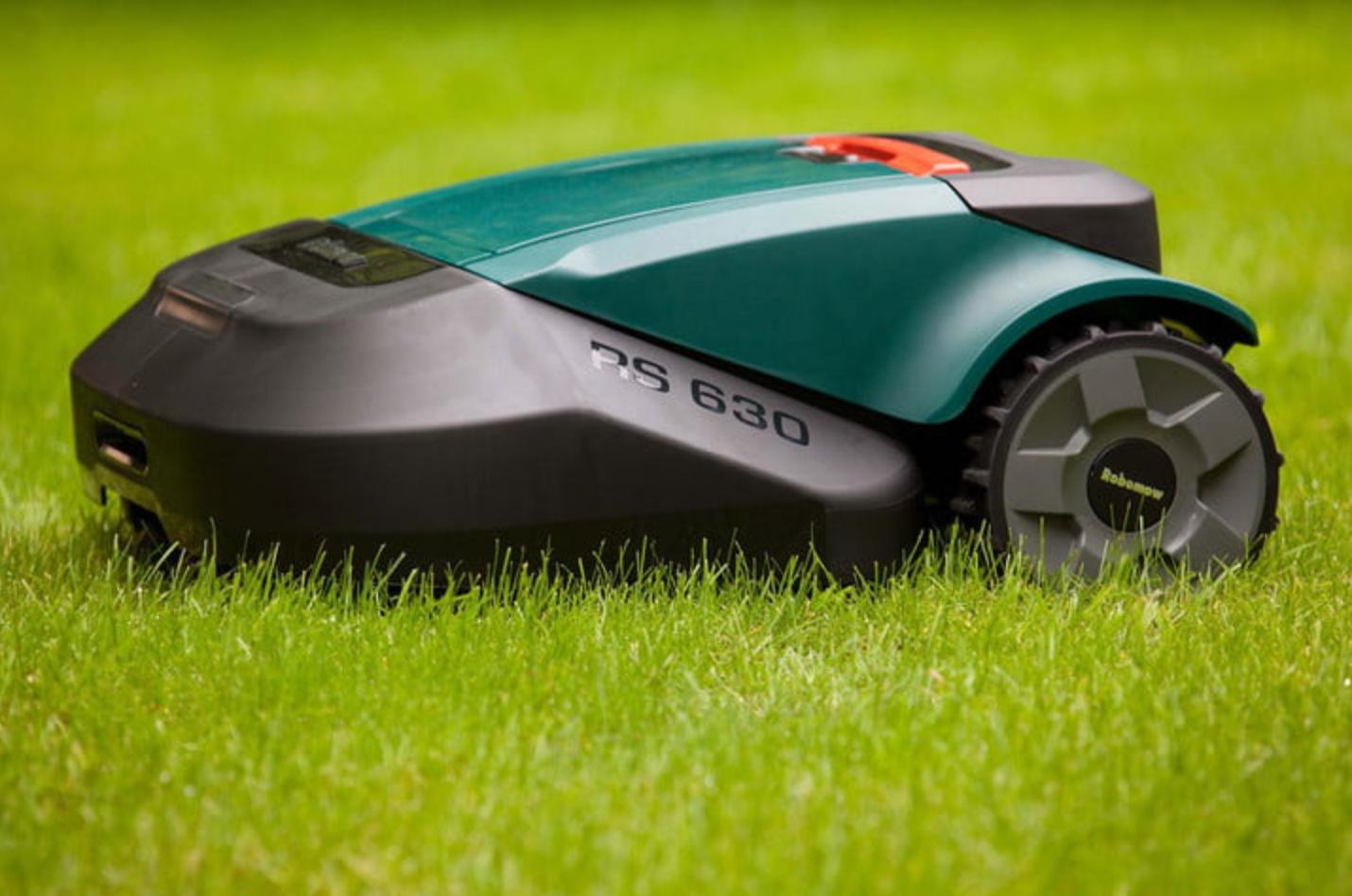 Test av robotgräsklippare
