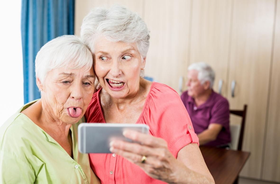 Test av seniortelefoner